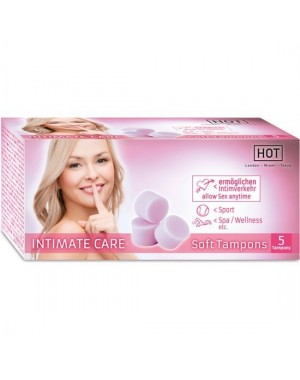 Hot Intimate Care Soft Tampons [5und]
