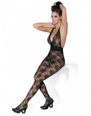 Bodystocking L400 Black [S/M], Obsessive