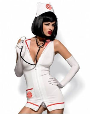Emergency dress & Stethoscope [L-XL]